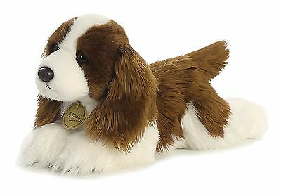 AURORA MIYONI Stuffed Plush Toy ENGLISH SPRINGER SPANIEL Animal PUPPY DOG 11""