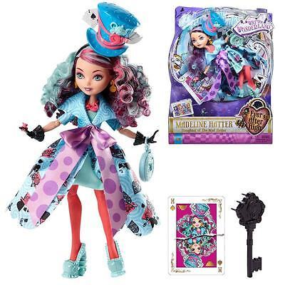 Ever After High Bambola - Verso il Paese delle Meraviglie Madeline Hatter