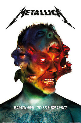 Metallica - Music Poster / Print (Hardwired... To Self-Destruct - Album Cover)