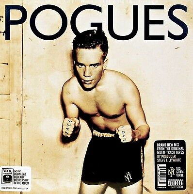 The Pogues - Peace & Love.   New Sealed Vinyl  Lp  Record + Mp3 Download
