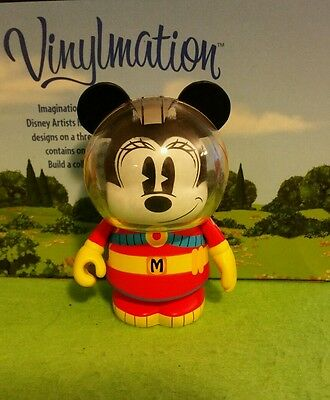 """DISNEY Vinylmation 3"""" Park Set 1 Mickey and Friends in Space Minnie Mouse"""