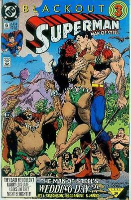 Superman: Man of Steel # 6 (Blackout part 3) (USA, 1991)