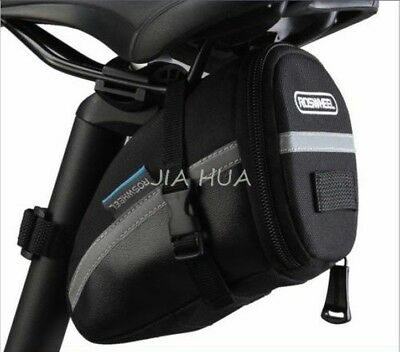 ROSWHEEL Hot! New Outdoor Saddle Bag Cycling Seat Storage Bike Tail Rear Pouch