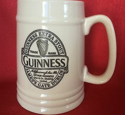One Pint Guinness Ceramic Tankard, 2016 Collector's Edition, mint condition