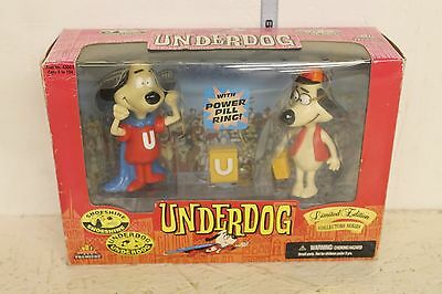 Underdog Figures Underdog and Shoeshine in box