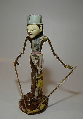 Vintage Indonesian Rod Puppet Wayang Golek from Java