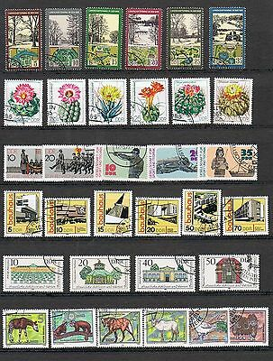 STAMPS  GERMANY - DDR SELECTION  of 33     (FU - CTO)    lot 1238a
