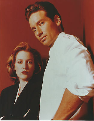X-Files 8 X 10 Photo With Ultra Pro Toploader