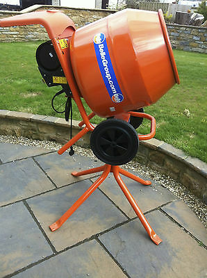 Belle Cement Mixer  Mini Mix 150 240v Electric BRAND NEW COMPLETE, BOXED