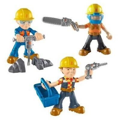 Fisher Price Sort. DHB05 Bob the builder Small Figurines