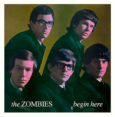 The Zombies - Begin Here.  New Sealed Vinyl  Lp  Mono Record.