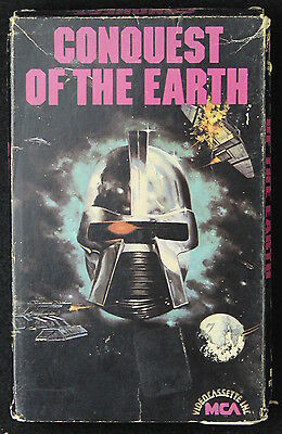 Conquest Of The Earth Beta Betamax Video Videotape Tape Movie
