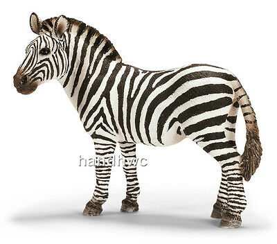 Schleich 14392 Zebra Female Wild Animal Model Mare Toy Figurine - NIP