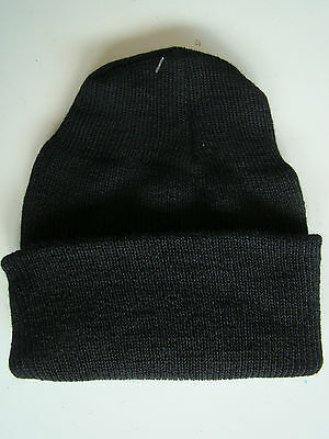 Us Navy Usn Cold Foul Weather Combat Nwu Bdu Knit Black Watch Cap