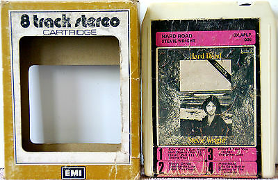 STEVIE WRIGHT Hard Road  Rare Albert  (EMI AUS) Issue  8 TRACK TAPE CARTRIDGE