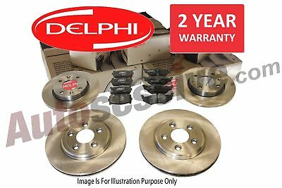 Vauxhall Astra H Cdti 2005-2011 Front & Rear Delphi Brake Discs + Pads