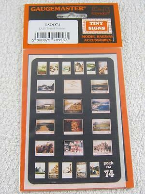 Gaugemaster 00/HO Gauge TSOO74 Tiny Signs Pack No.74 Track Accessory NEW