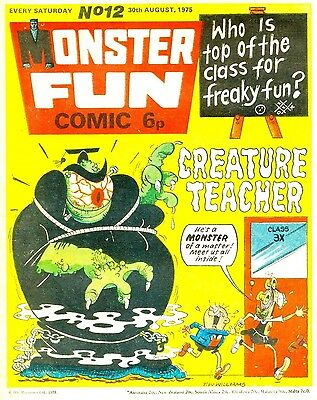 Uk Comics Monster Fun Complete Run Plus Annuals On Dvd