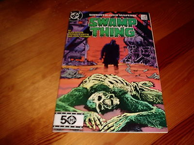Swamp Thing # 36  Alan Moore