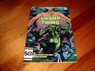 Swamp Thing # 38  Alan Moore