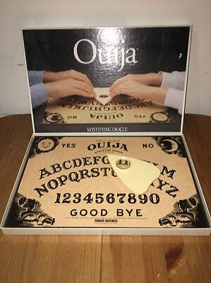 1992 Parker Brothers William Fuld Talking Board Ouija Mystifying Oracle Game