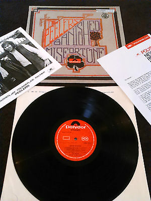 The Peelers - Banished Misfortune Lp + Press Release & Photo Ex+!!! Uk 1St Press