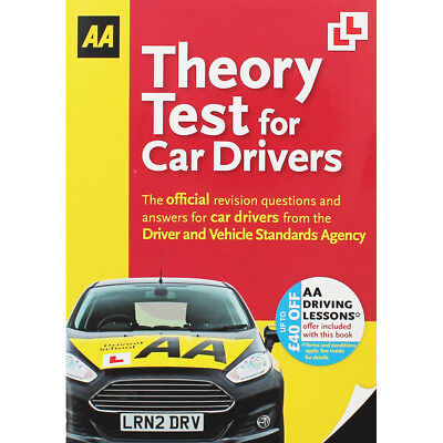 AA Theory Test For Car Drivers by AA (Paperback), Non Fiction Books, Brand New
