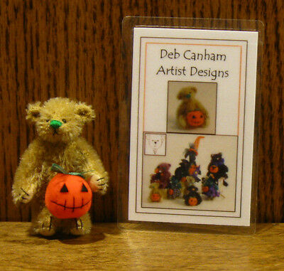 "DEB CANHAM Artist Designs TAFFEE, Pumpkin Gang Coll. 2.25"" LE From Retail Store"