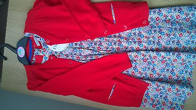 BNWT Girls Summer Dress and Matching Cardigan from M&S - age 4-5 years