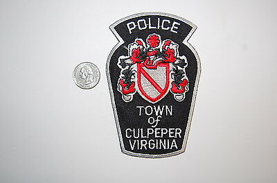 Town of Culpeper Virginia Police Dept Patch