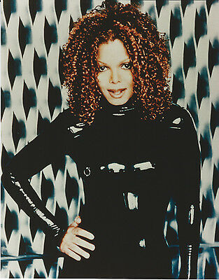 Janet Jackson 8 X 10 Photo With Ultra Pro Toploader