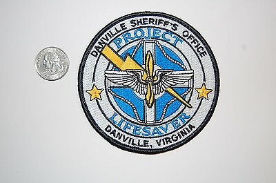 Danville Virginia Sheriff's Office Project Lifesaver Patch