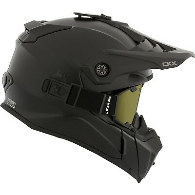 CKX 2017 – Titan Atlas Mat Black Modular Snow Helmet - Small