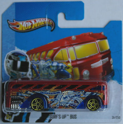 Hot Wheels - Surfin´ School Bus / Surf´s Up Bus blutorangemet. Neu/OVP