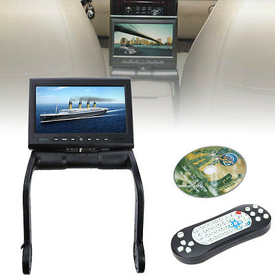 """Car Armrest Center Console DVD Player 8.5"""" LCD Screen Monitor IR/FM Game USB/TF"""