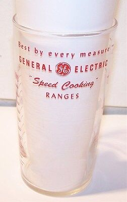 General Electric Speed Cooking Ranges Federal Glass Measuring Cup