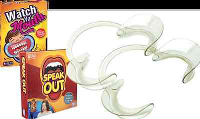 SPEAK OUT WATCH YA' MOUTH |  Funny Mouthpiece Openers | 10 x SMALL MED OR LARGE