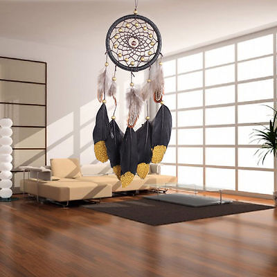 Handmade Dream Catchers with Feathers Creative Car / Wall Decoration 40-45cm