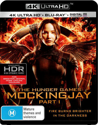 Hunger Games Mockingjay Part 1 UHD 4K Blu-ray Region B New!