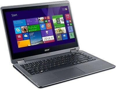 Acer Aspire R 14 (R3-471TG-58E0) 14-inch HD Multi Touch Notebook (Silver)