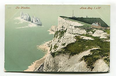 Alum Bay - The Needles - early Isle of Wight postcard