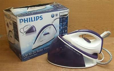 Boxed Philips GC6611 Purple Speed Care Steam Generator Home Clothes Iron Press