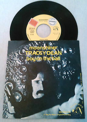"""Tracey Dean - Moonshiner / Boy On The Ball 7"""" 45 Rpm 'demo' Ex!!! Moroder Italy"""
