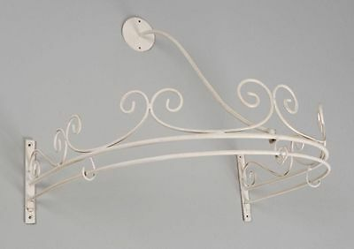 52cm Cream Bed Canopy Chic French Shabby Design Home Bed Canopies Ciel de Lit