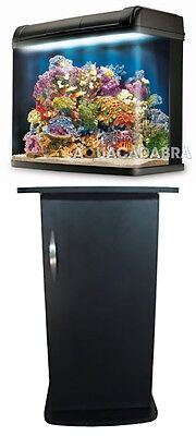 Kent Marine Bio Reef 94L Aquarium Reef Led Lighting Fish Tank Cabinet Stand