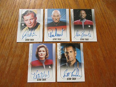 2017 Star Trek 50th Anniversary Trading Cards FULL MASTER SET with Binder - NEW