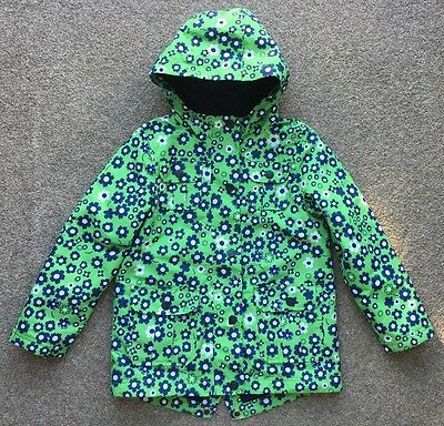 Next Green Ditsy Print Technical Jacket Size 7 Years