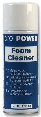 Pro Power Foam Cleaner 400ml Aerosol PPC100