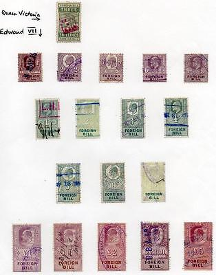 Valuable collection of Revenue and fiscal stamps, 90+ stamps/covers