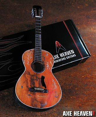 Axe Heaven Willie Nelson Trigger Acoustic Miniature Guitar Replica Collectible